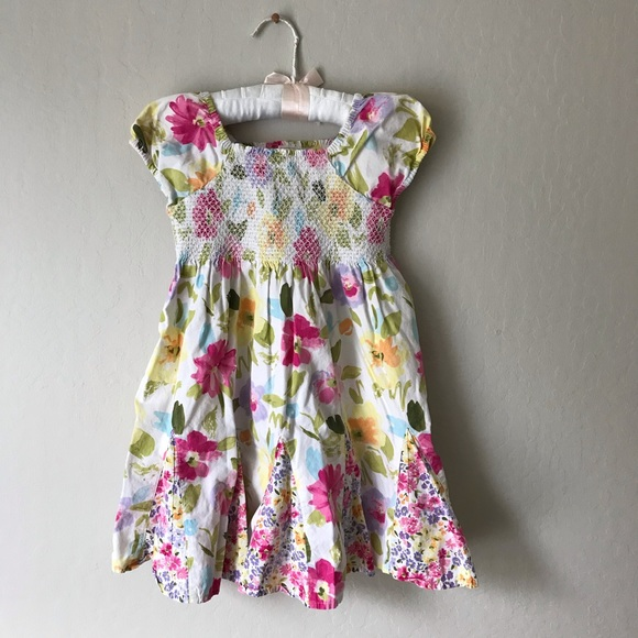 Gymboree Floral Mixed Print Twirl Dress